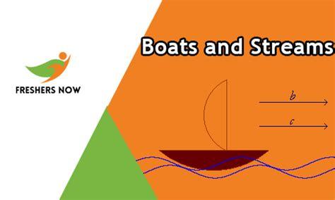 boats and streams quiz online test aptitude questions - Boats Quiz