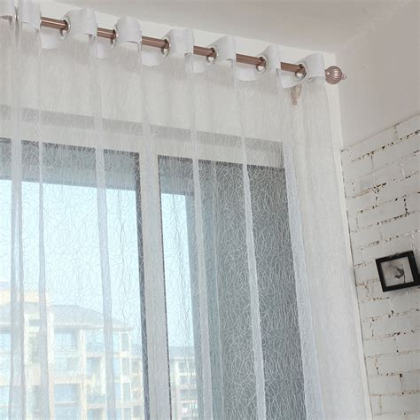 sheer curtains for sale hot sale bird nest modern tulle for windows sheer curtains