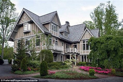 house in carolina andie macdowell puts carolina tudor mansion on