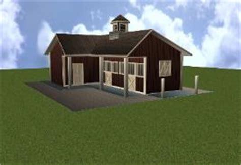Horse Stall Floor Plans barn plans shed row barn breeze way barn design