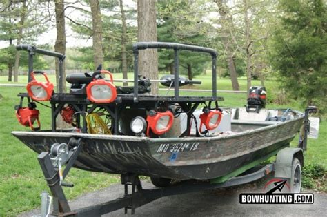 ams bowfishing boat lights bowfishing come join the fun