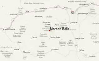 maroon bells colorado map maroon bells mountain information