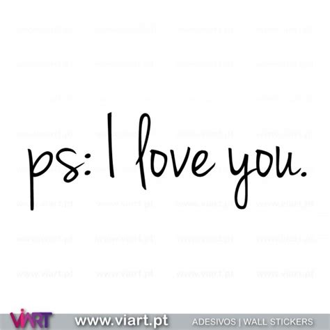 ps i you ps i you wall stickers vinyl decoration viart