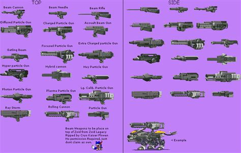 zoids legacy faqwalkthrough for game boy advance by chen game boy advance zoids legacy beam weapons the