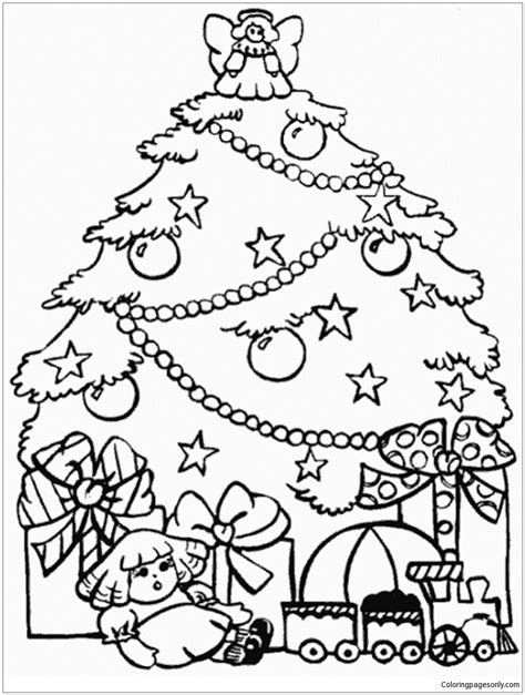 crayola coloring pages christmas tree create your own christmas tree coloring page at crayola a