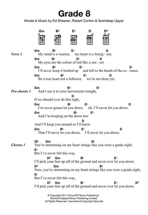 ukulele tutorial ed sheeran grade 8 sheet music by ed sheeran ukulele 121858