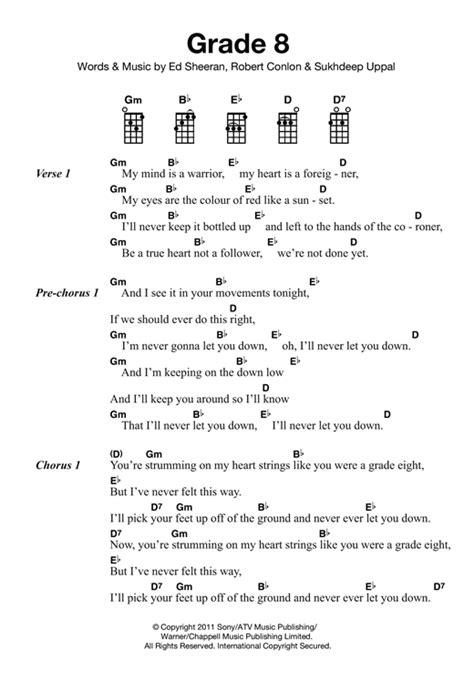 ed sheeran perfect ukulele tutorial grade 8 sheet music by ed sheeran ukulele 121858