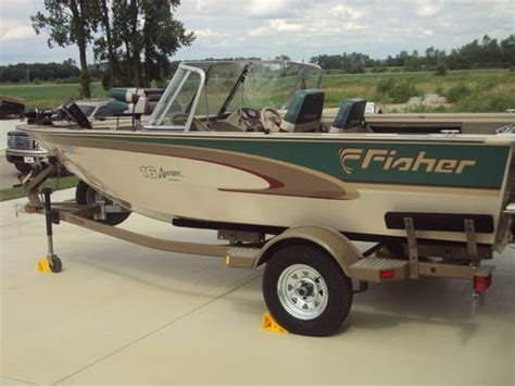 fisher aluminum boats 1999 16ft fisher aluminum boat classifieds buy sell