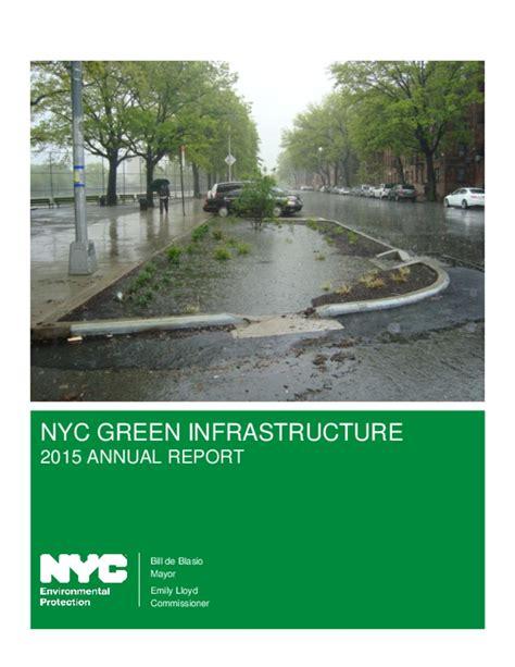 green infrastructure plan fuels smarter nyc green infrastructure plan a sustainable strategy for clean waterways smartnet
