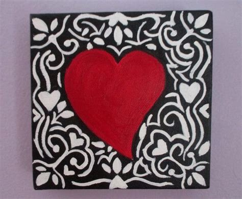 valentines day painting valentines day painting of canvas