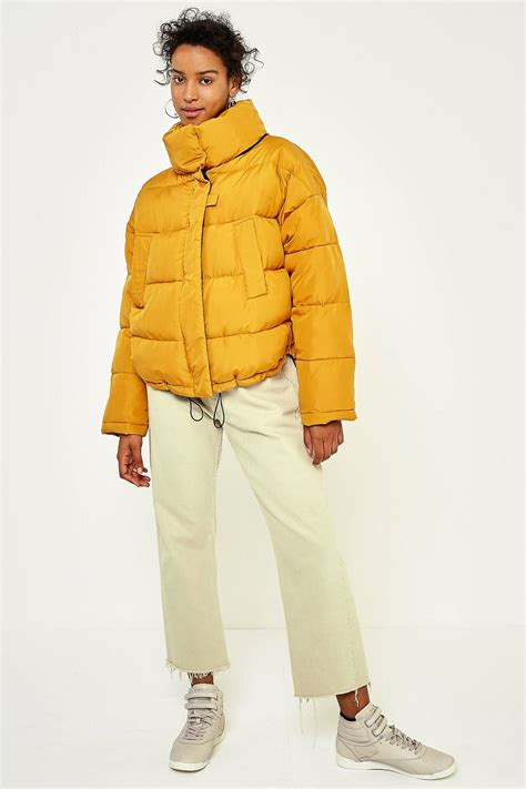 light before puffer jacket light before yellow pillow puffer jacket yellow