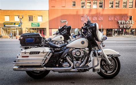 Harley Motorrad Bilder by Foto Harley Davidson Polizei Motorrad