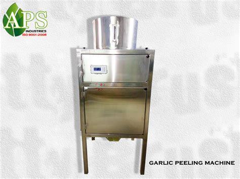 lahsun chilne ki machine price garlic peeling machine price