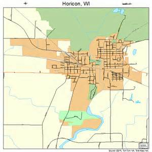 horicon wisconsin map 5535750