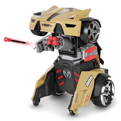 Cars Robot Be A Cars Robots the remote controlled transforming robot car hammacher