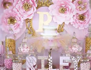 pink and gold baby shower ideas princess baby shower quot pink and gold baby shower for princess quot catch my