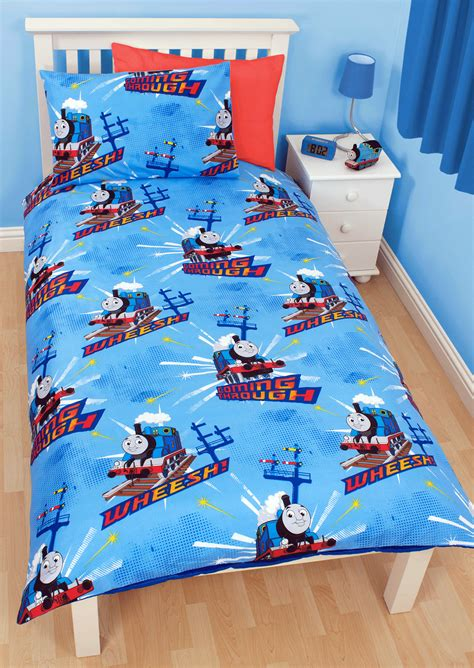 Single Quilt Cover by The Tank Engine Wheesh Single Duvet Quilt Cover