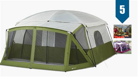 3 room cabin tent with screened porch instant tent with screened porch