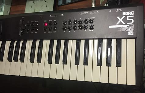 Keyboard Korg X5 Baru korg x5 synthesizer x5 reverb