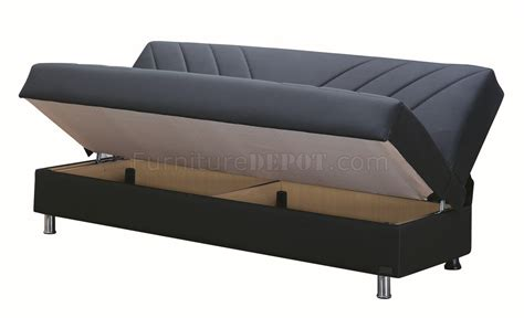 upholstery halifax halifax sofa bed convertible in black bonded leather