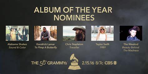 2016 Grammy Nominations Announced Cbs News | 2016 grammy nominations announced cbs news