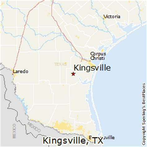 map of kingsville texas best places to live in kingsville texas