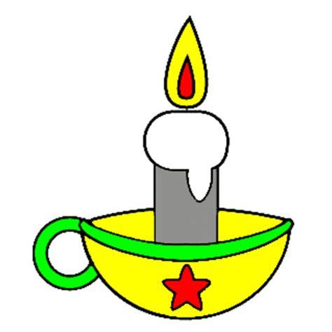 disegni di candele disegno di candela di natale a colori per bambini