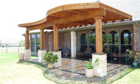 unique patio ideas best 25 curved pergola ideas on pinterest