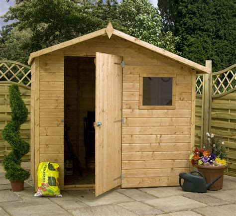 7x5 Metal Shed by Shedswarehouse Oxford 7ft X 5ft Tongue Groove