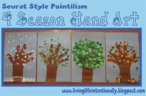 printable seasons poster 4 seasons hand print fun and easy craft craft ideas