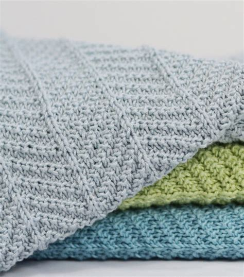 Pattern For Baby Blanket Knitting by Four Row Repeat Knitting Patterns In The Loop Knitting