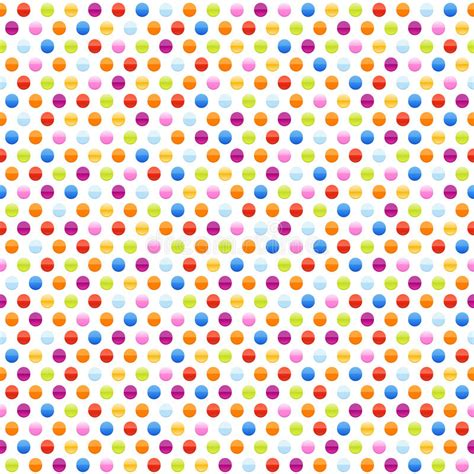 seamless dot pattern vector background stock vector seamless background pattern with multicolored dots stock