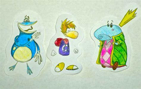 Rayman Papercraft - rayman paper babies by georgetheg on deviantart