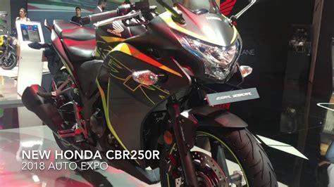 Lu Led Motor Cbr 250 2018 Honda Cbr250r With Led Headlight 2018 Auto Expo