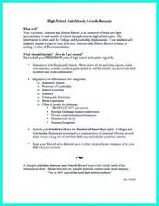 Sle College Application Resume For High School Seniors by 1000 Ideas About High School Resume Template On High School Resume Customer