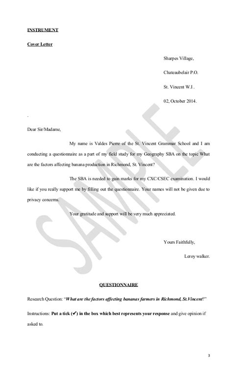 Geographic Research Letter Order Geography Cover Letter