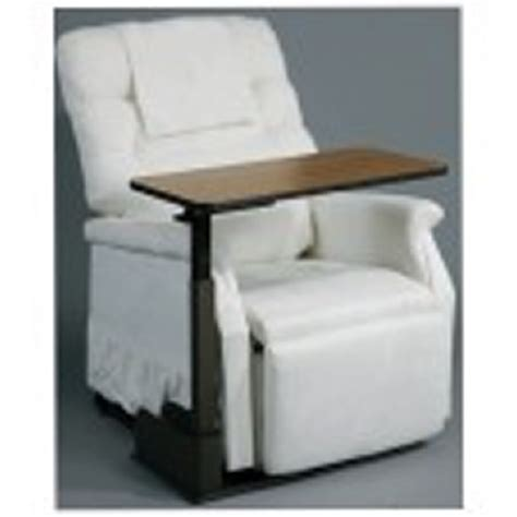 lift chair table seat lift chair overbed table by drive 13085ln