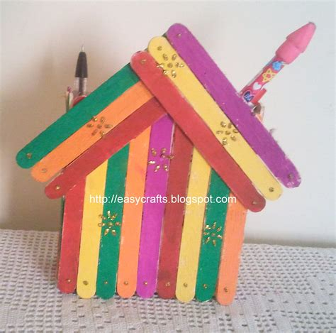 pen stand craft for easy crafts explore your creativity stick pen