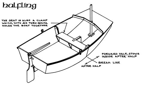 how to draw a optimist boat halfling boat design net