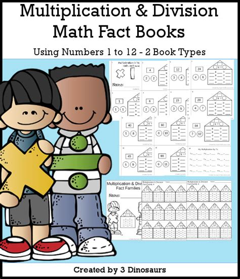 math facts for minecrafters multiplication and division books free math fact houses for multiplication division 3