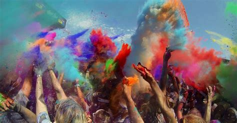 color run pomona color run conquers coast with 12 000 human paint palettes