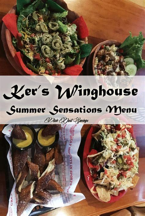 wing house menu ker s winghouse summer sensations