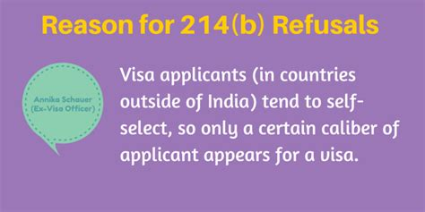 what is section 214 b for us visa 1 reason why so many indian students f1 visa is denied in