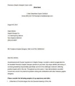 Cover Letter For Graphic Design Application by Graphic Designer Cover Letter Template 5 Free Word