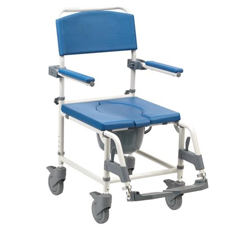 Used Shower Chair by Aston Commode Mobile Shower Chair World Of Scooters