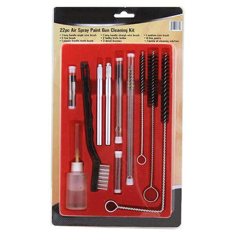 pc air paint spray gun cleaning kit