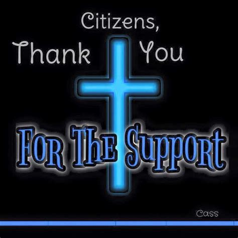thank you letter after cross sheriff removes thank you note featuring cross after