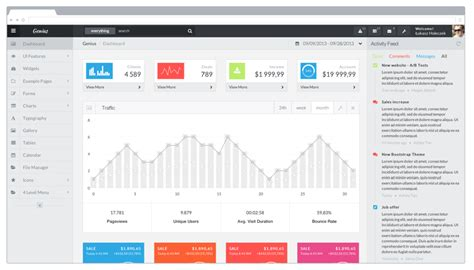 admin dashboard template genius dashboard bootstrap admin template