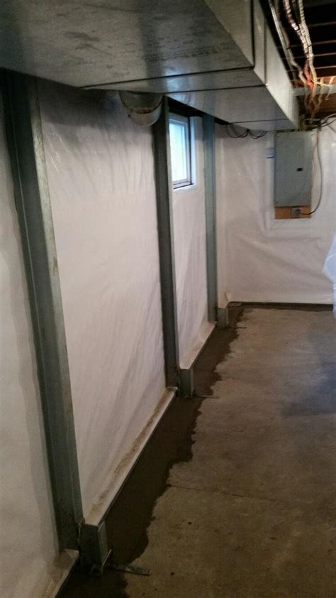 mid america basement systems midamerica basement systems foundation repair before and