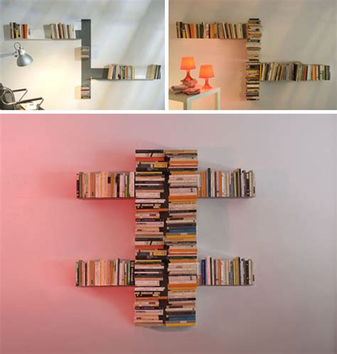 diy invisible shelf meets abstract modern sculpture